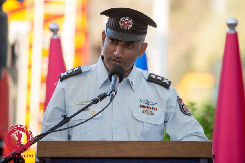 רב טפסר דדי שמחי (צילום: תיעוד מבצעי כבאות והצלה לישראל)