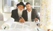 מאור הקודש יודאיקה עם הרב שמעון בוזגלו (צילום: ישראל מזרחי)