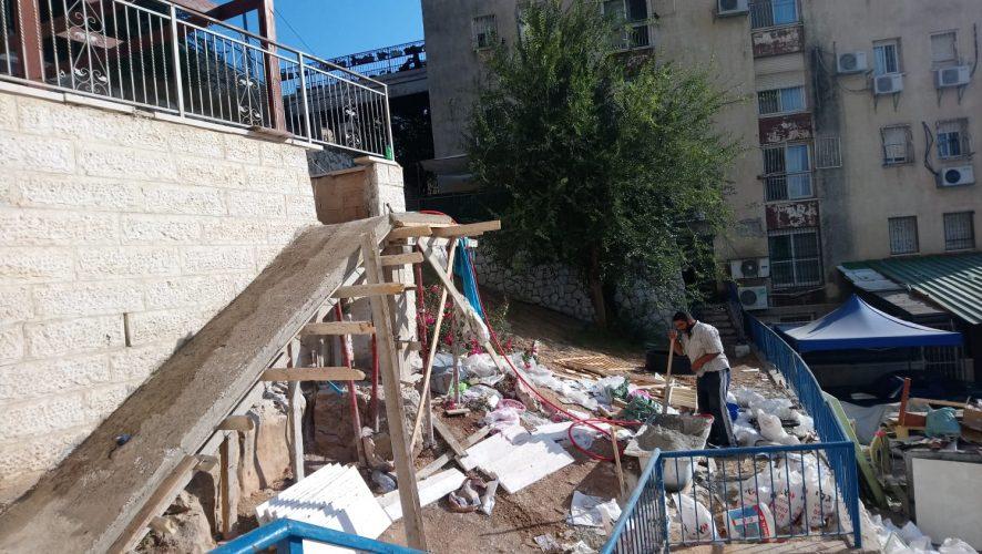 גן הילדים שפועל ללא היתר ברחוב שטרן, קרית היובל (צילום: פרטי)
