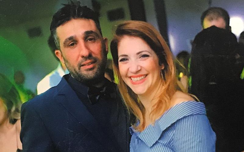 """קארין ז""""ל ושמוליק שמואלי (צילום: שרון רביבו)"""
