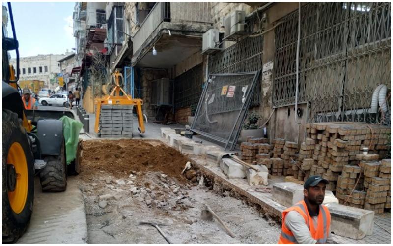 שוב חפירות ברחוב בית יעקב (צילום: אלבום פרטי)