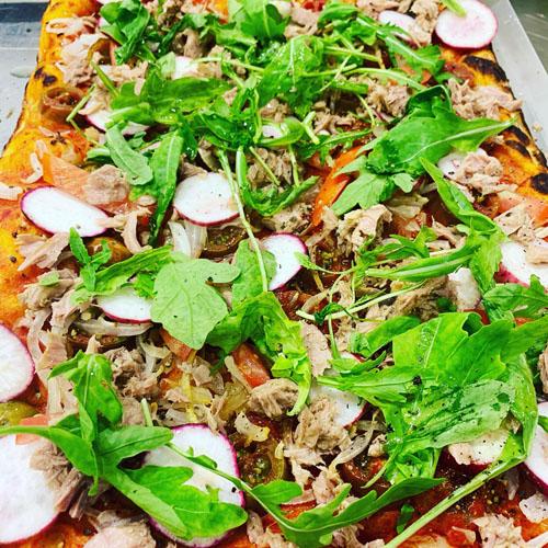 פיצה פרטיג'יאנו (צילום: לידיה קלו)