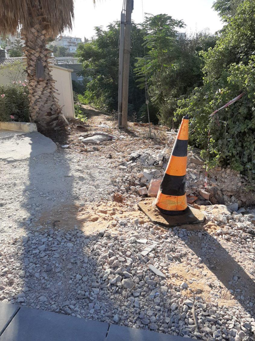 רחוב יאנוש קורצ'אק, קרית היובל (צילום: טובה כהן)