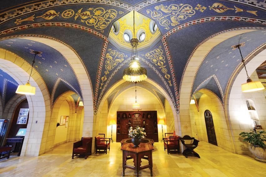"""בניין ימק""""א (צילום: באדיבות ימק""""א הבינלאומית ירושלים)"""