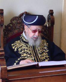 """הרב עובדיה יוסף ז""""ל (צילום: Alloni)"""