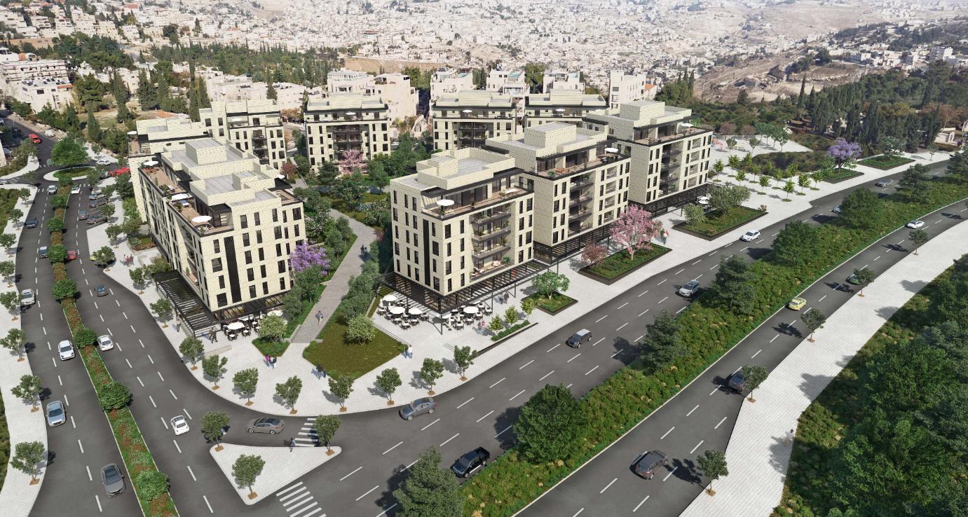 פרויקט 'חלומות ארנונה' להשכרה ארוכת טווח (צילום הדמיה: מילבאאור אדריכלים, דירה להשכיר)