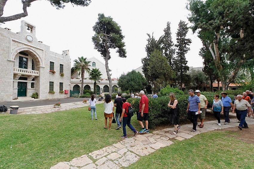 בית הספר האנגליקני הבינלאומי (צילום: גיא יצחקי)