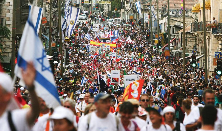 צעדת ירושלים (צילום: ליאור מזרחי)