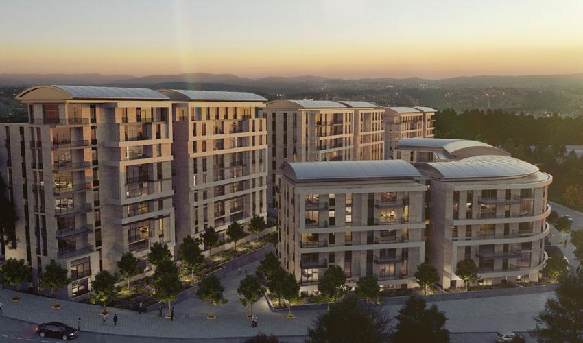 דירות למכירה בירושלים: רובע עסקי חדש בכניסה לעיר