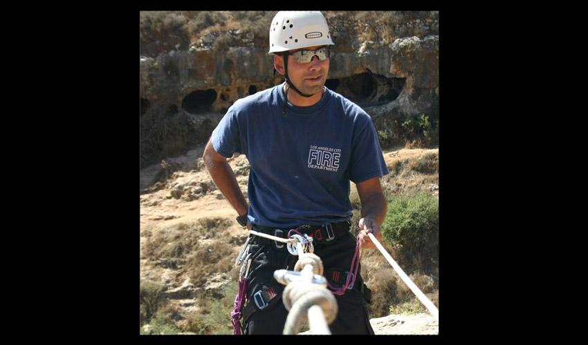 יוסי בן שמחון (צילום: אריק אבולוף, כבאות והצלה ירושלים)