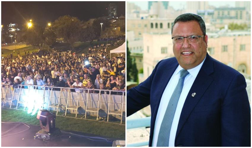 ראש העיר משה ליאון, חגיגות הסהרנה בירושלים (צילומים: שלומי כהן, פרטי)