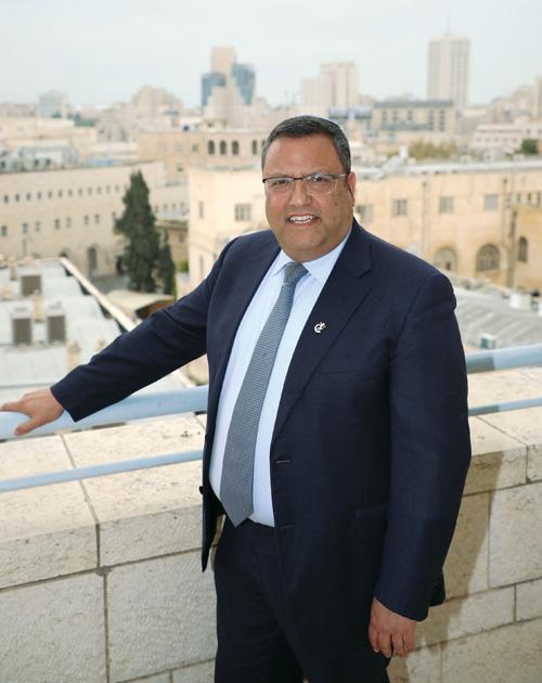 ראש העיר משה ליאון (צילום: שלומי כהן)