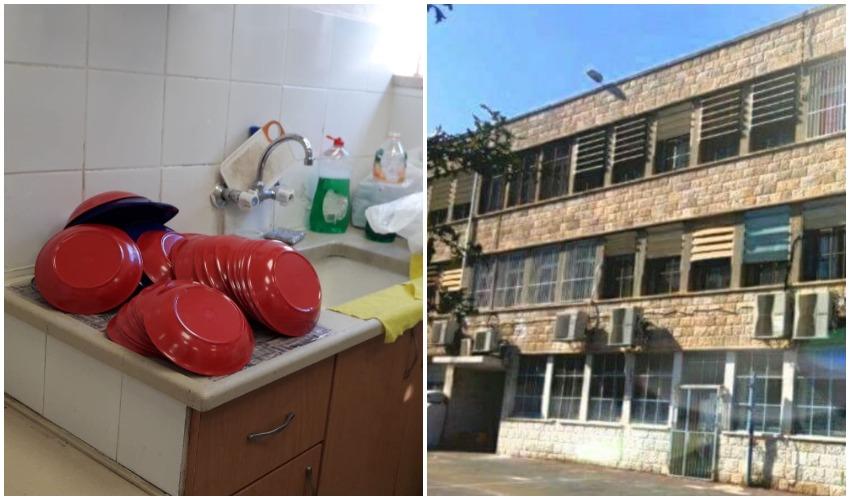 בית הספר הניסויי, הכלים הרב פעמיים בבית הספר (צילומים: מינהל קהילתי לב העיר, בית הספר הניסויי)