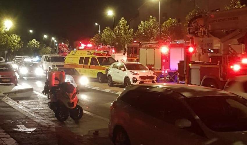 השריפה הקטלנית בקרית היובל: דייר בן 70 נשרף למוות