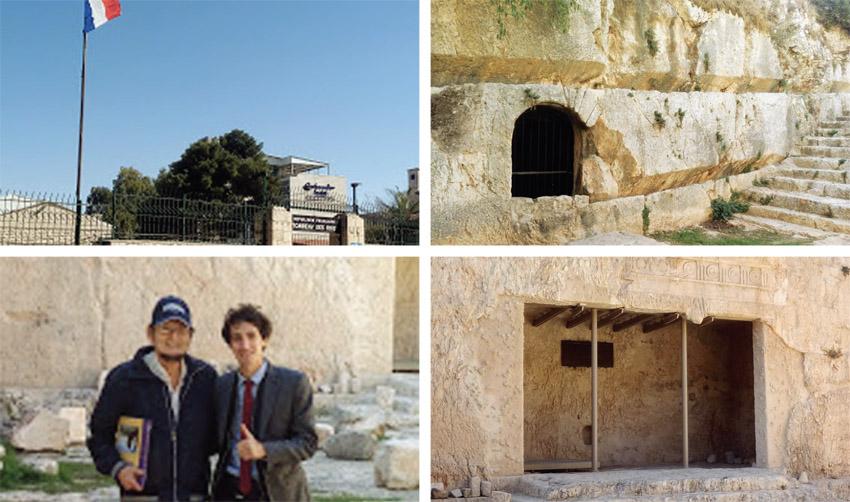 """אתר קברי המלכים בעיר העתיקה (צילומים: ד""""ר אדם אקרמן, פרטי)"""