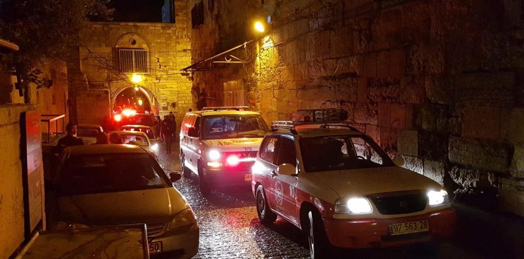 העיר העתיקה: אישה בת 80 נפלה מגובה בתוך מעלית ונהרגה