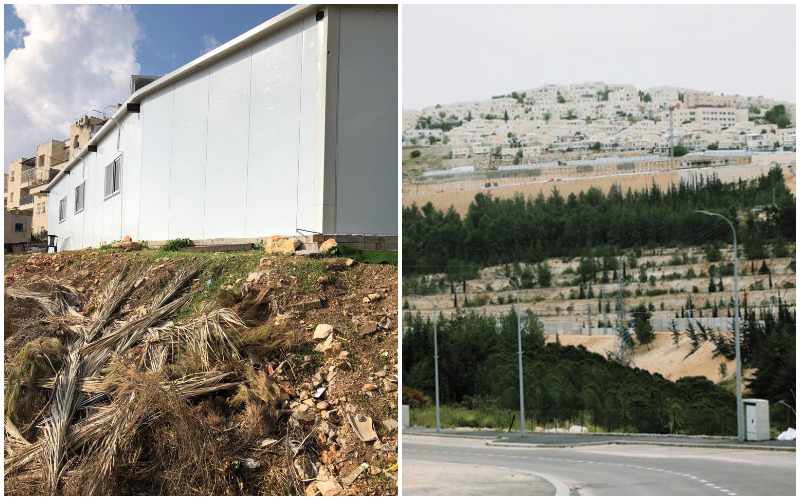 רמות, בית הכנסת הלא חוקי ברחוב בן זאב ישראל ברמות ג' (צילומים: שלומי כהן, פרטי)