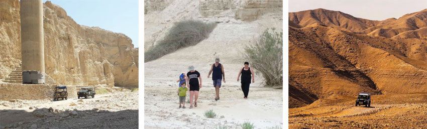 מסע במדבר (צילום: ג'אבר אלאטראש)