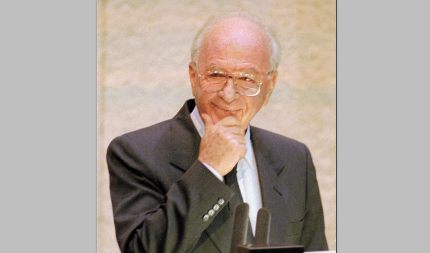 """ראש הממשלה יצחק רבין ז""""ל (צילום: ASSOCIATED PRESS)"""