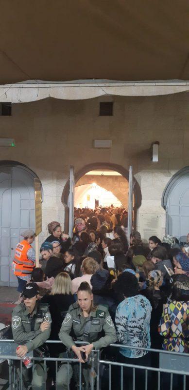 הילולת רחל אימנו - מתחם קבר רחל בבית לחם (צילומים: המשרד לשירותי דת)