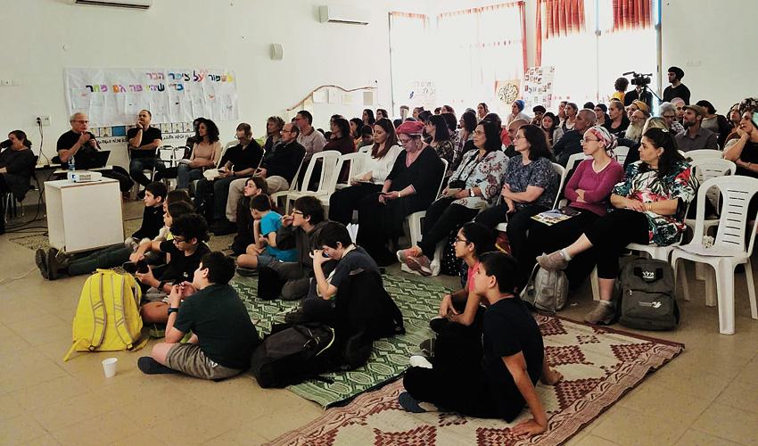יום העיון שהתקיים בבית הספר נירים (צילום: עיריית מעלה אדומים)