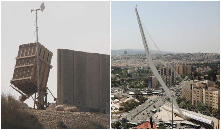 ירושלים, מערכת כיפת ברזל (צילומים: אמיל סלמן, אילן אסייג)