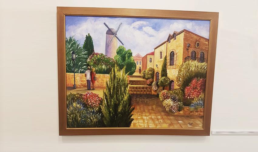 """מתוך התערוכה """"מצייר את החיים"""" (צילום: פרטי)"""