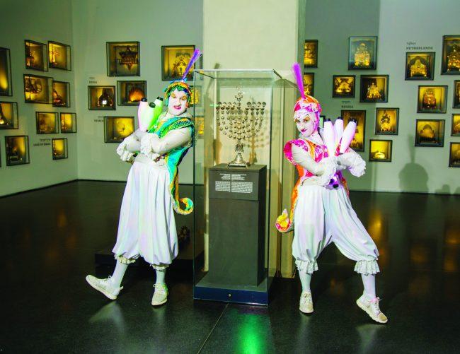 """חנוכה במוזיאון ישראל (צילום: יח""""צ מוזיאון ישראל)"""