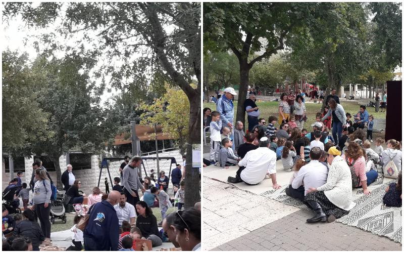 פעילויות 'שבת ירושלמית' בבית הכרם