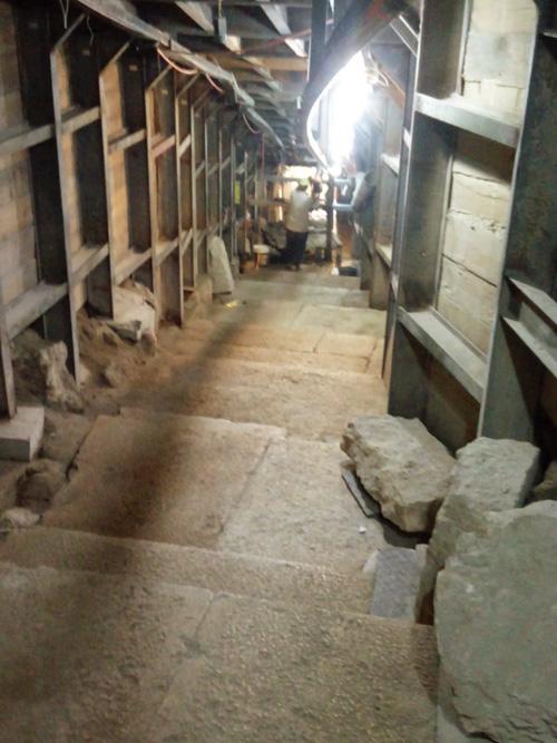 """דרך עולי הרגל בעיר העתיקה (צילום: רשות העתיקות, ד""""ר אדם אקרמן)"""
