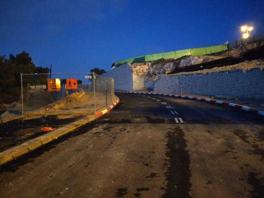 הכביש המוביל למורדות גילה (צילום: פרטי)