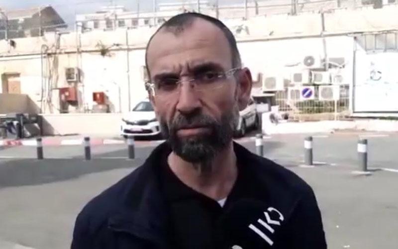"""אלי אריש (צילום: מתוך הטוויטר של """"חדשות כאן"""")"""