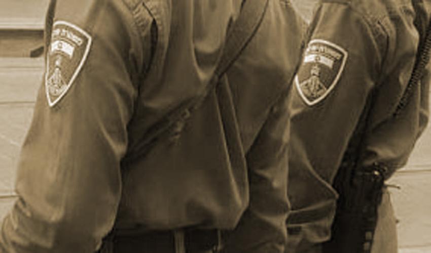 שוטרי מגב למצולמים אין קשר לנכתב בידיעה (צילום: דוברות המשטרה)