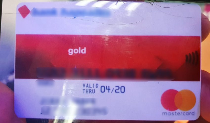 אחד מכרטיסי האשראי ששוכפלו (צילום: דוברות המשטרה)