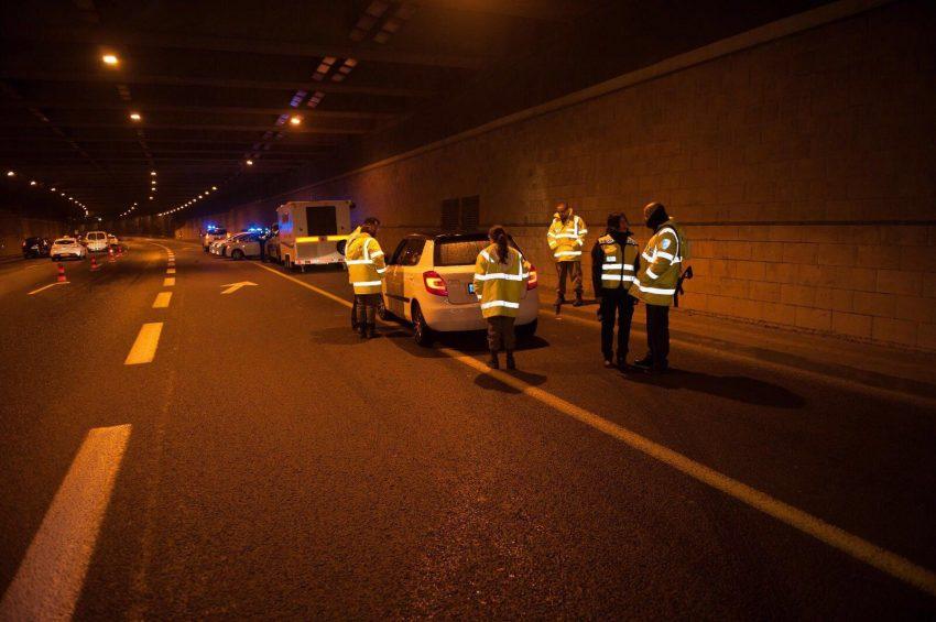 היערכות המשטרה לסילבסטר (צילום: דוברות המשטרה)