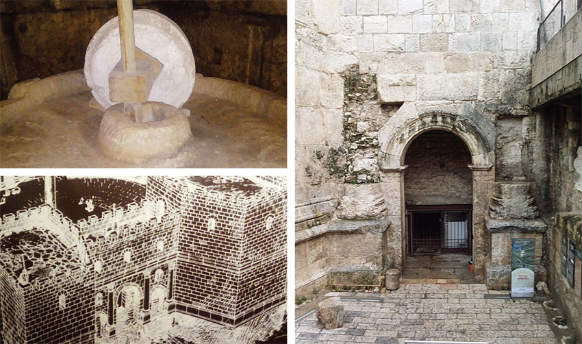 """השער הרומי (צילומים: ד""""ר אדם אקרמן)"""