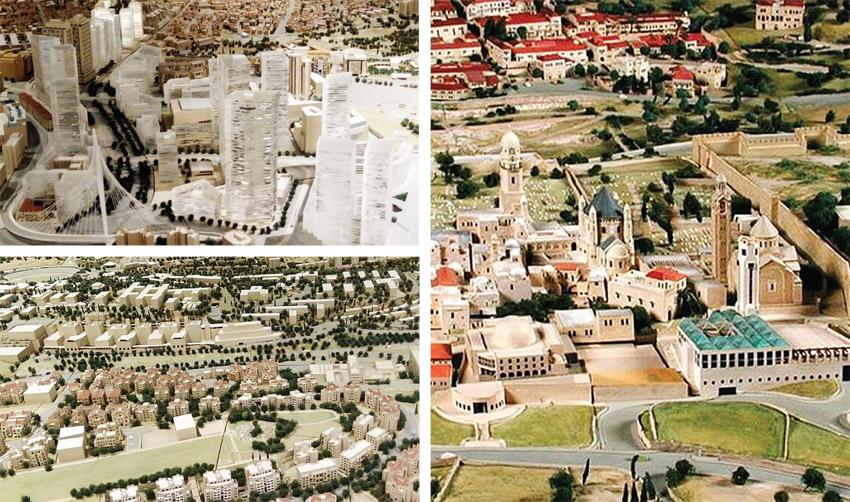 מודל העיר בתל ממד (צילומים: אדם אקרמן, מינהלת מודל העיר בכיכר ספרא)