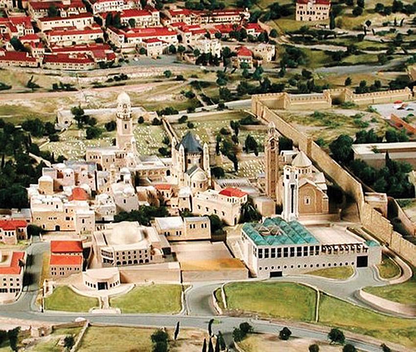 מודל העיר בתל ממד (צילום: מינהלת מודל העיר בכיכר ספרא)