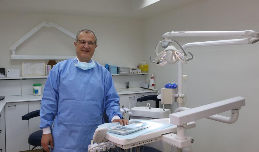"""ד""""ר סרז' גולדמן, רופא שיניים (צילום: אבי נועם)"""
