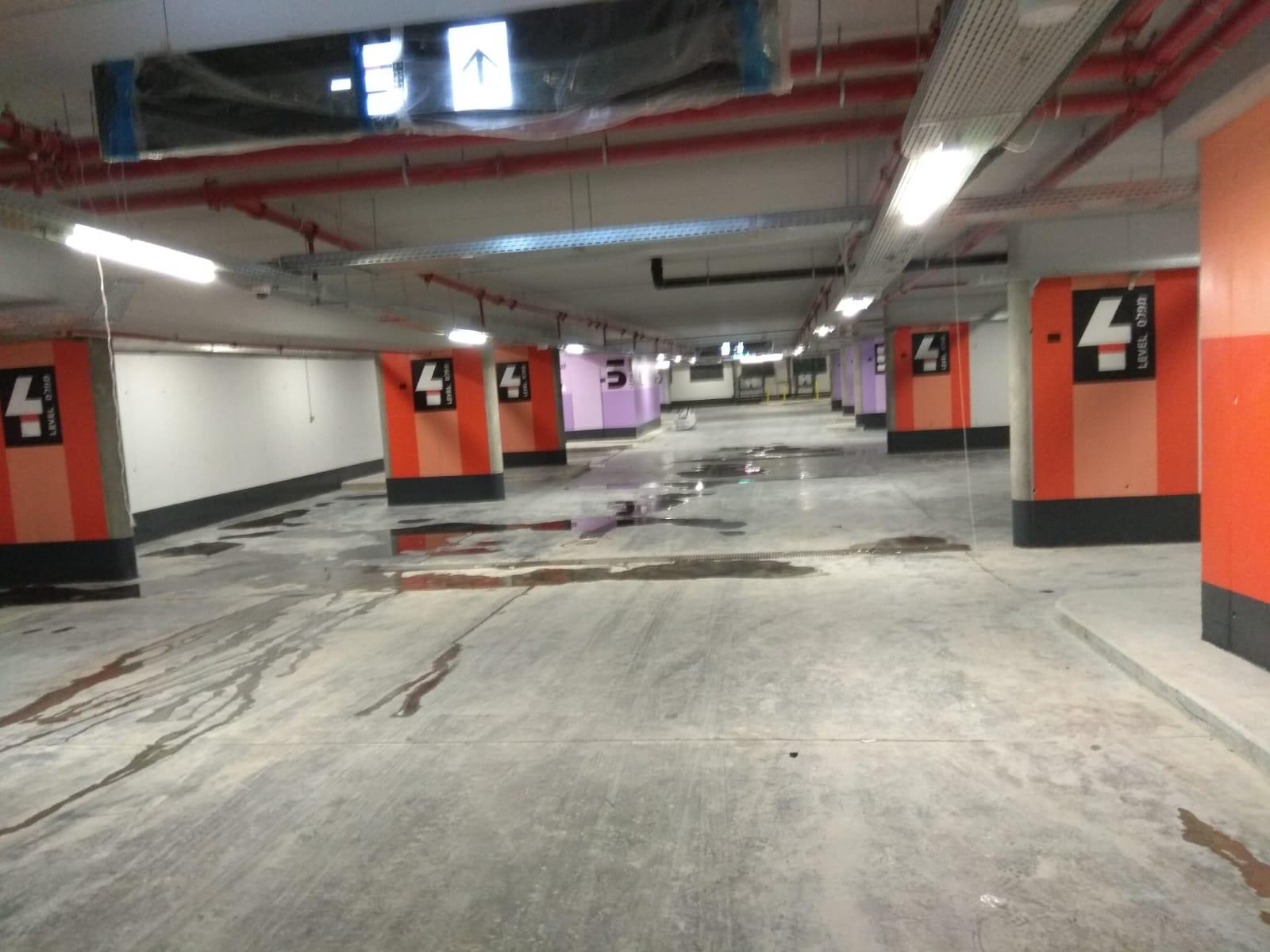 חניון ז'ראר בכר החדש במרכז העיר (צילום: פרטי)