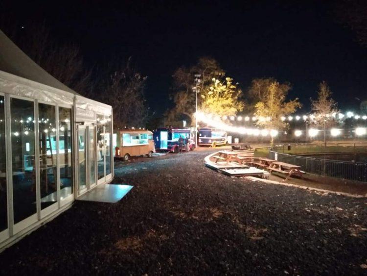 'המטבחון' - מתחם האוכל החדש בגן הוורדים (צילום: באדיבות הרשות לפיתוח ירושלים)