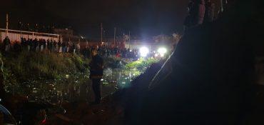 סמוך לבור המים שבו נמצא הילד (צילום: דוברות המשטרה)
