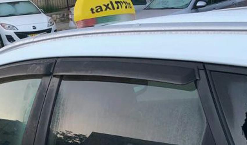 מונית (צילום: דוברות המשטרה)
