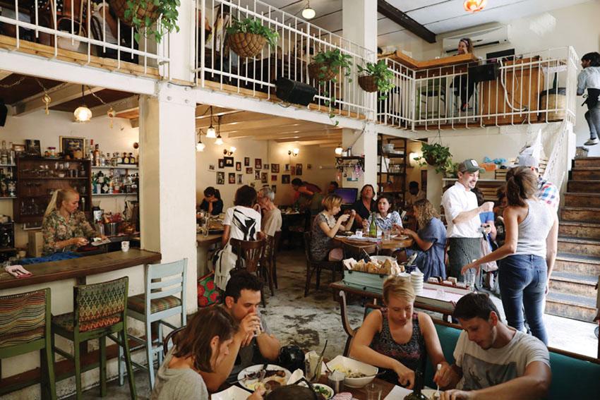 מסעדת מחניודה (צילום: אתי נמיר)