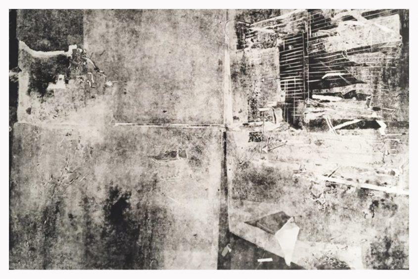 """תערוכת """"על גבול המציאות"""" בבית משפט השלום בירושלים - יצירה מאת נעמה ארז"""