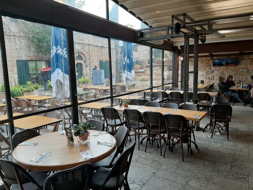 """מסעדת """"הפונדק"""" (צילום: שירה ולני)"""