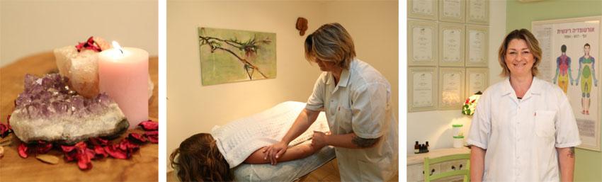 ויקי דניאל, מטפלת בעיסוי רפואי (צילום: אבי נועם)