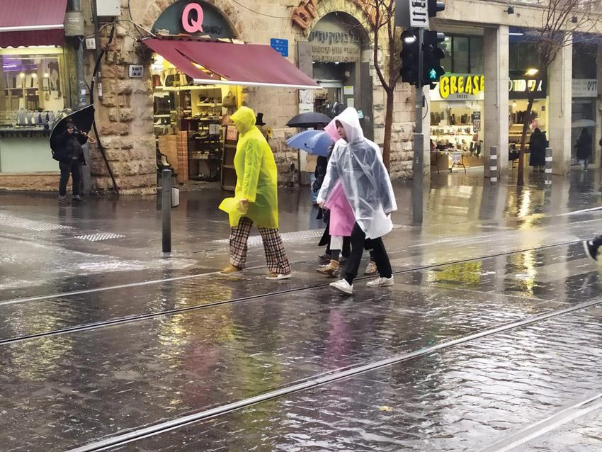 חורף בירושלים (צילום: שלומי הלר)