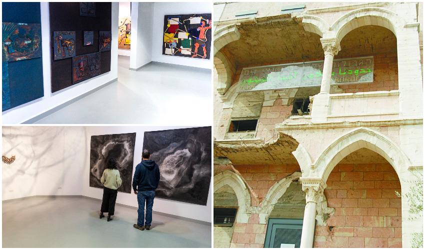 מוזיאון על התפר, מתוך התערוכה 'להיוולד מחדש', מתוך התערוכה 'פנחס כהן גן' צילומים רפי אתגר, יניב דרוקר