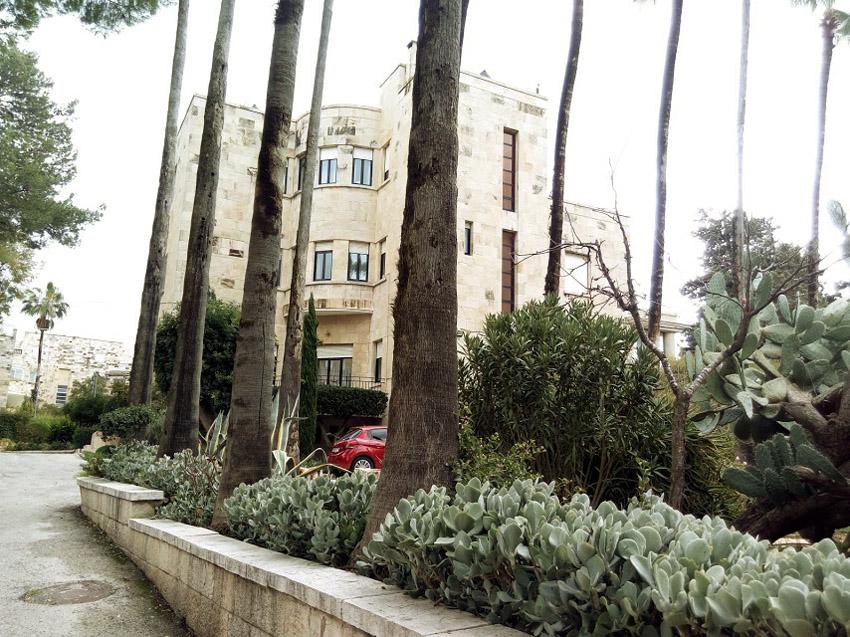 """וילה סלמה בשכונת טלביה (צילום: ד""""ר אדם אקרמן)"""